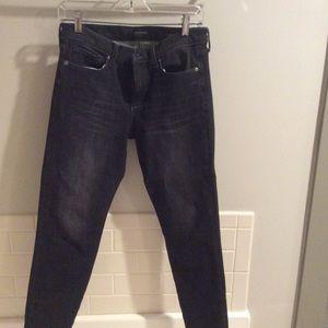 banana republic zero gravity Black skinny jeans